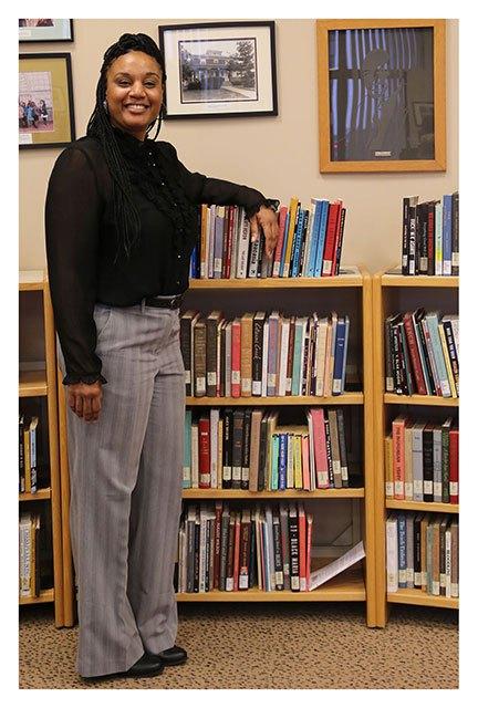 Nikki Johnson, Black Cultural Center Librarian
