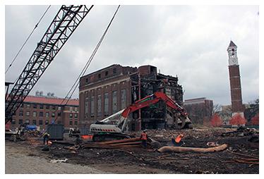 Active Learning demolition north power palne November 6 2014
