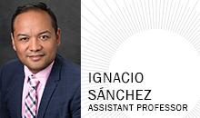 Ignacio Sánchez, Assistant Professor of Library Science