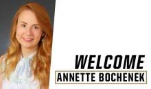 Welcome Annette Bochenek