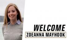 Welcome Zoe Mayhook